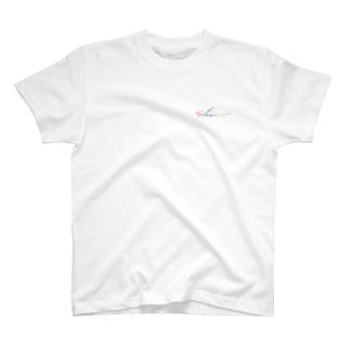 logo color Tシャツ