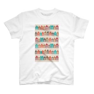 ステキな街並み Tシャツ
