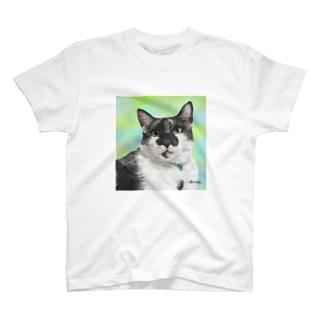 白黒オレオ君 Tシャツ