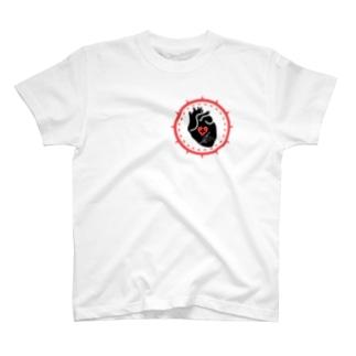 クロスハート Tシャツ