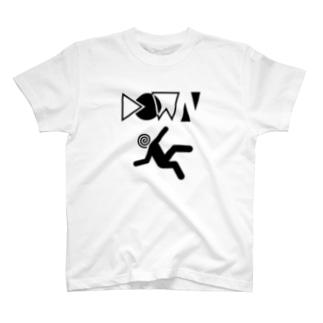 down Tシャツ