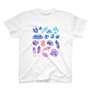 宇宙鉱物のコレクション Tシャツ
