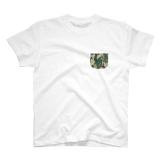 緑かめ Tシャツ