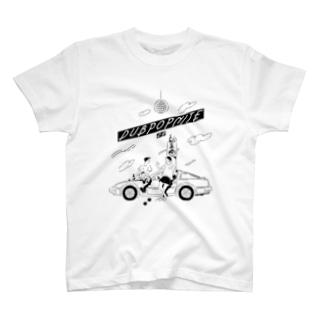 DUBPOPNITE09 mono-w Tシャツ