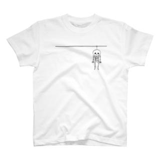 Halloween(骨) Tシャツ