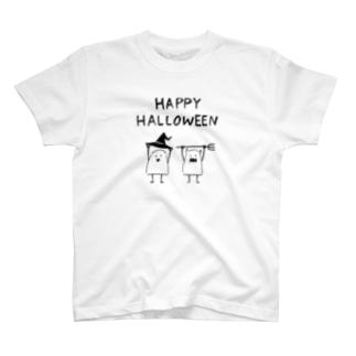 Halloween(ライン) Tシャツ
