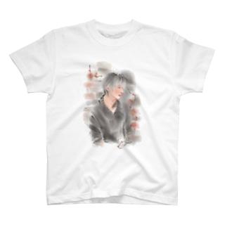 秋の横顔 Tシャツ