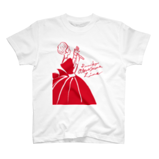 megumiillustrationのOtonasama Live T Tシャツ