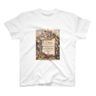 ハンス・ホルバインの死のアルファベット Tシャツ