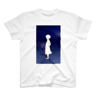 星空と君と Tシャツ