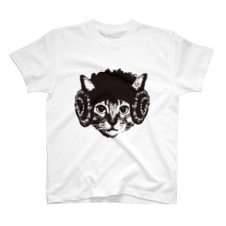 羊猫 Tシャツ