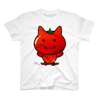 Ally's TOMATO CAT Tシャツ