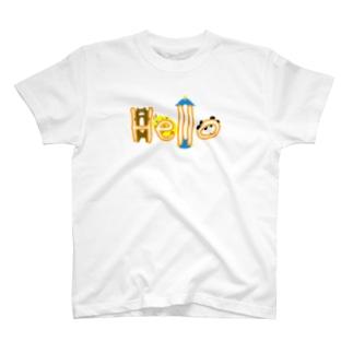 みんなでご挨拶 Tシャツ