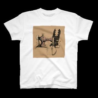 FINCH LIQUEUR RECORDSのクワガタウサギとみしん Tシャツ