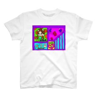 まんが風。 Tシャツ
