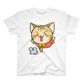 すずにゃん でっかいすぱいらる Tシャツ