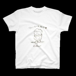 さしすせそ研究室の正子さん Tシャツ