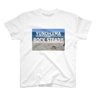 SANGOLOW FREESTYLED DESIGNのYUNOHAMA ROCK STEADY Tシャツ