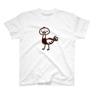 ダチョウ Tシャツ