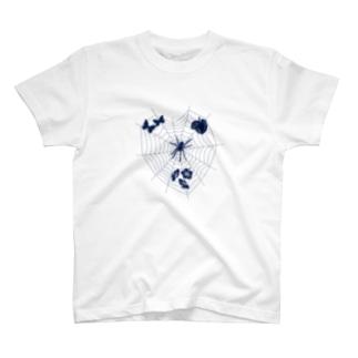 蜘蛛 Tシャツ