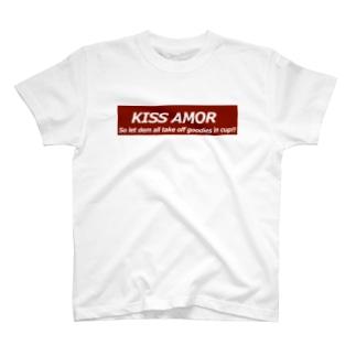 KISS AMOR Tシャツ