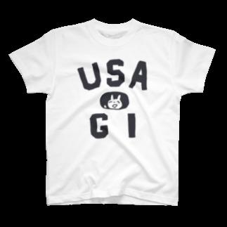 ワタナベスグルのUSA Tシャツ