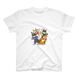シバレンジャー参上!その2 Tシャツ