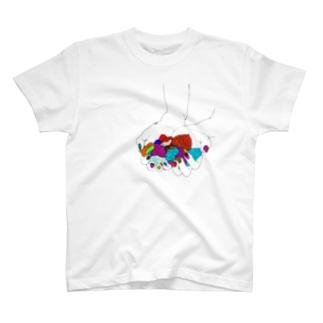 愛は思い出 Tシャツ
