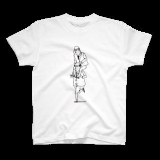 YuLink.( ユリンク )のおっさんのかたぐるまTシャツ