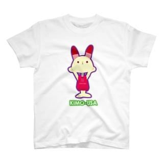 kimo-usa Red Tシャツ