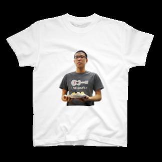 hitode909のおにぎりTシャツ