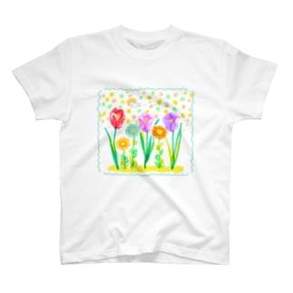 春だよ Tシャツ