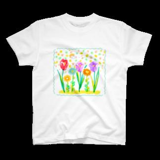 marina。の春だよ Tシャツ