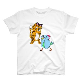 トラれたらトリかえす Tシャツ