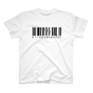 ばーこーど Tシャツ
