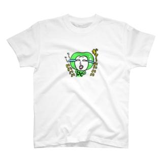 笑いが止まらないエダマメちゃん Tシャツ
