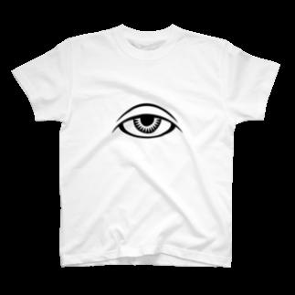 呪術と瞳 Tシャツ