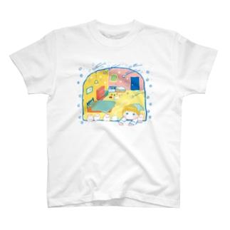 流れるキラキラ Tシャツ