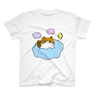 ふわふわくものうえ Tシャツ