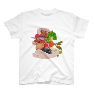 好き嫌いだめ Tシャツ