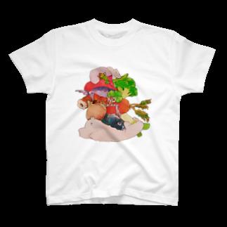 タジャの好き嫌いだめ Tシャツ
