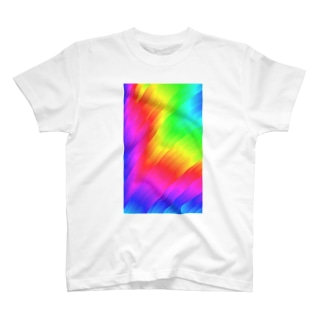 レインボー Tシャツ