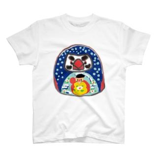 文鳥だるま Tシャツ