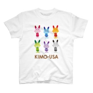 kimo-usa 6color Tシャツ
