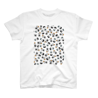 Pinepicturesのmoo&moon by pine pictures Tシャツ