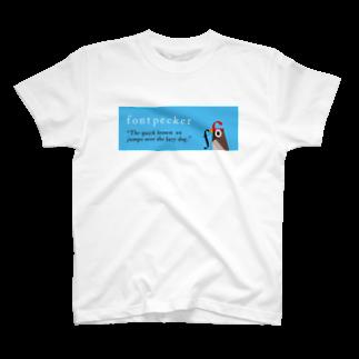 fontpecker Tシャツ