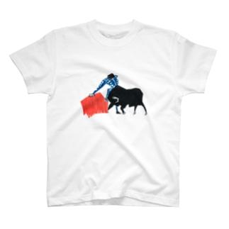 闘牛 Tシャツ