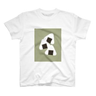 海苔と白米 Tシャツ