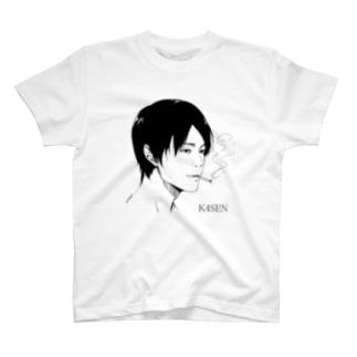 k4sen x MizinkoEX Tシャツ