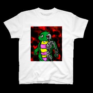折羽ル子のガチャミネーターTシャツ